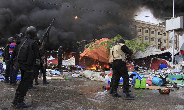 спецназ на египетской площади