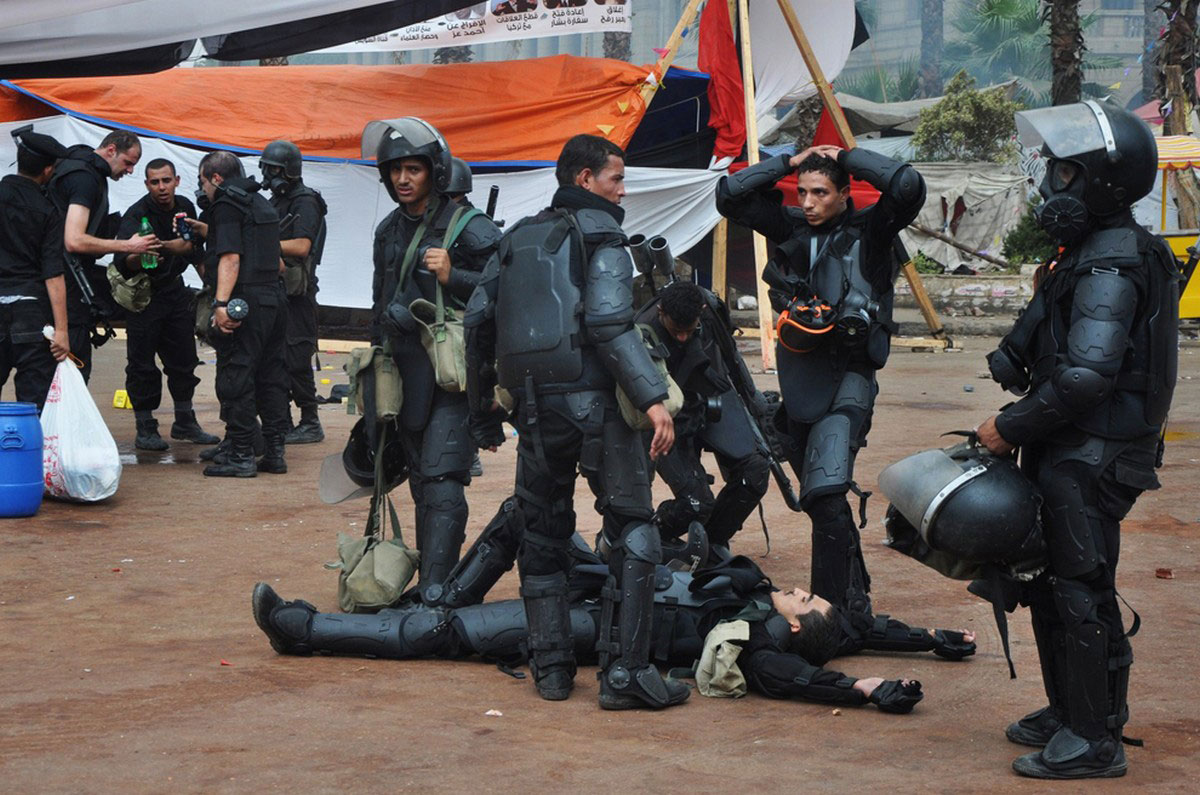 полицейские Египта