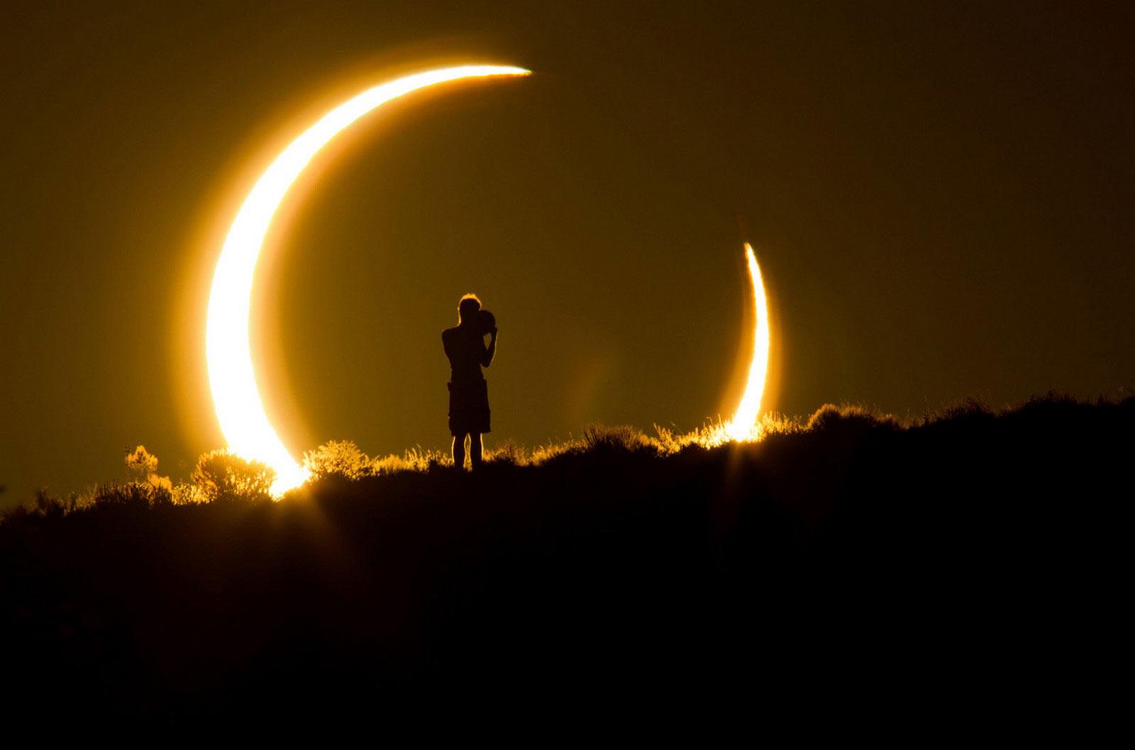 солнечное затмение, фото Smithsonian