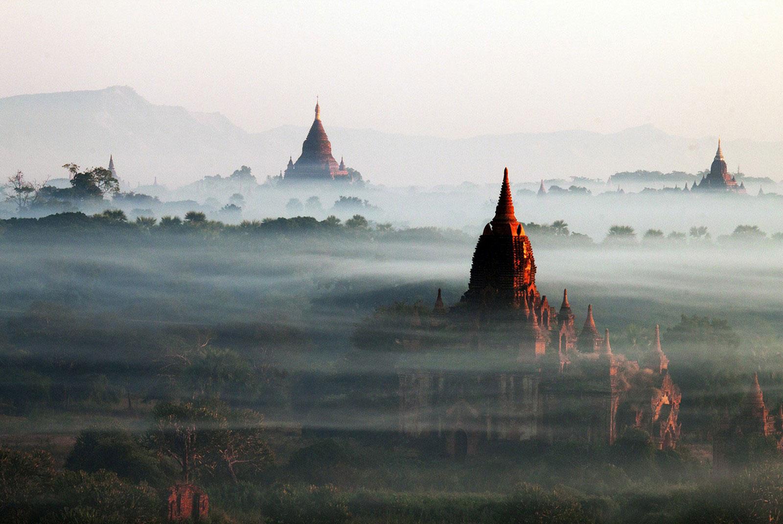 столица древней Мьянмы, финалист фотоконкурса