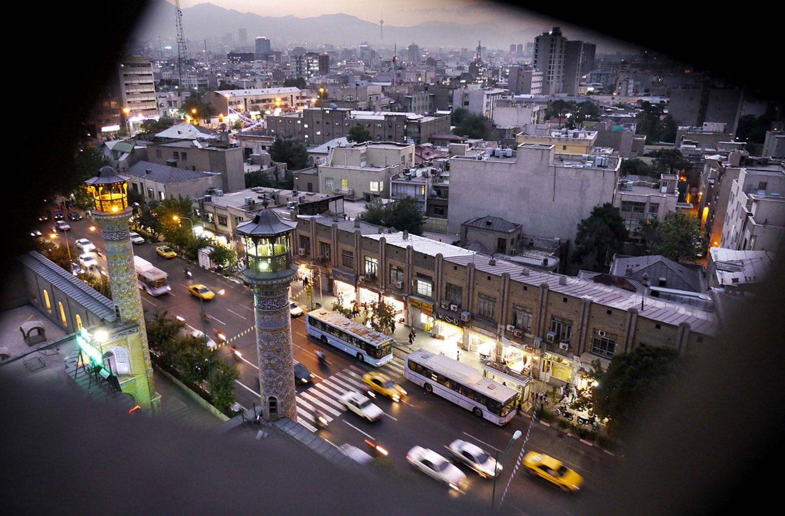 центр Тегерана
