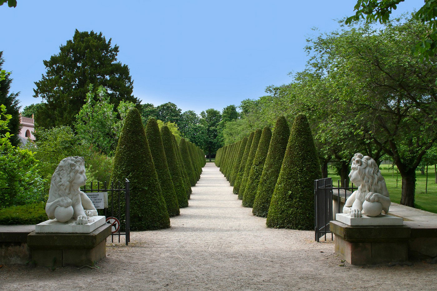парк в Швецингене