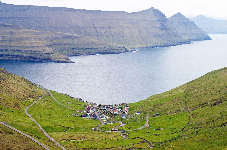населенный пункт на Фарерских островах