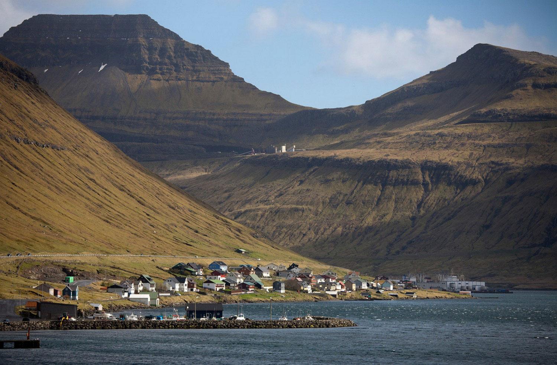 деревня на фарерских островах