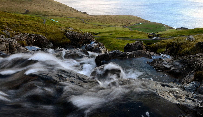 река на фарерах, фото