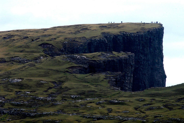туристы на фарерских островах