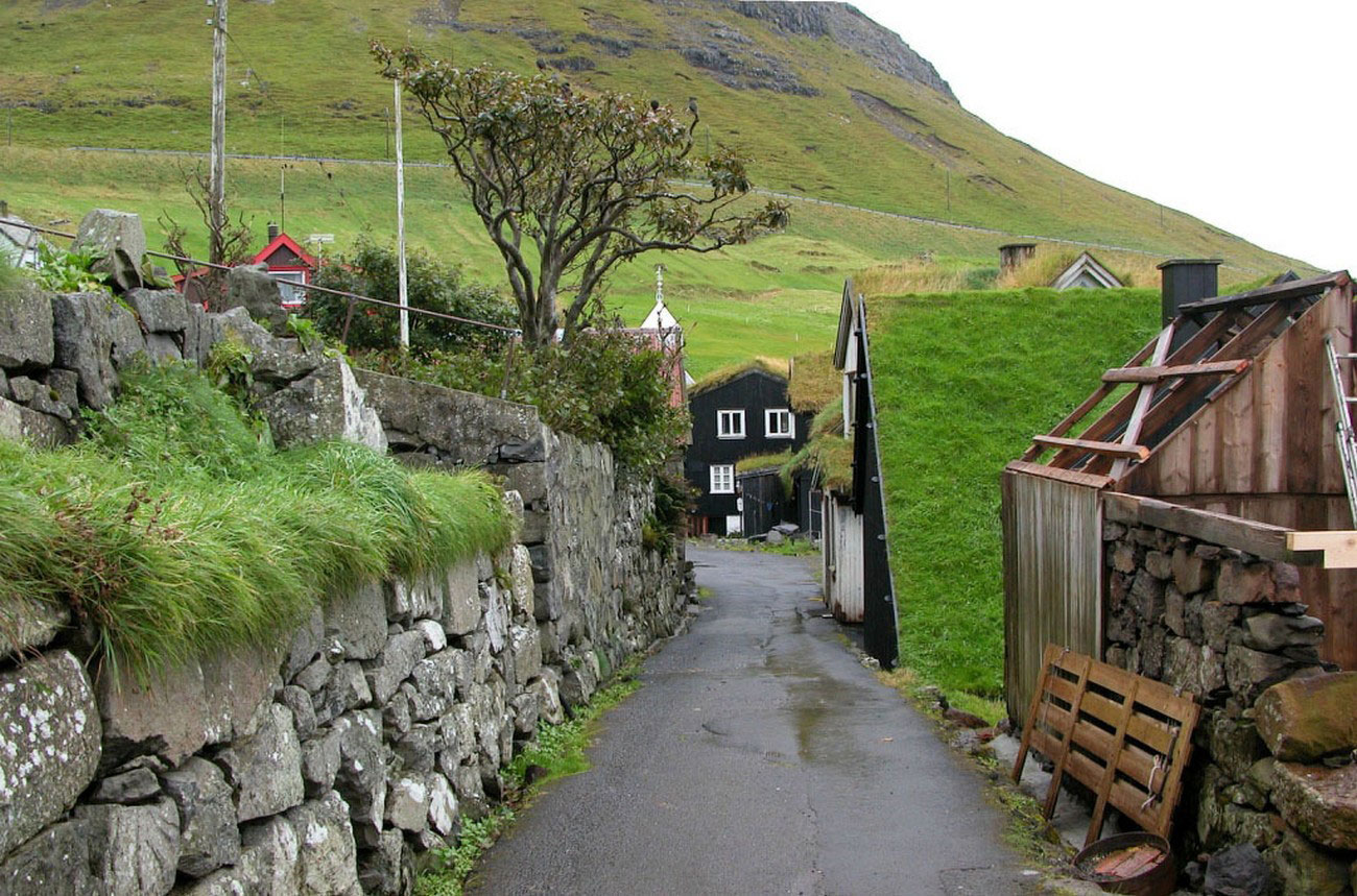 Кварталы на фарерских островах