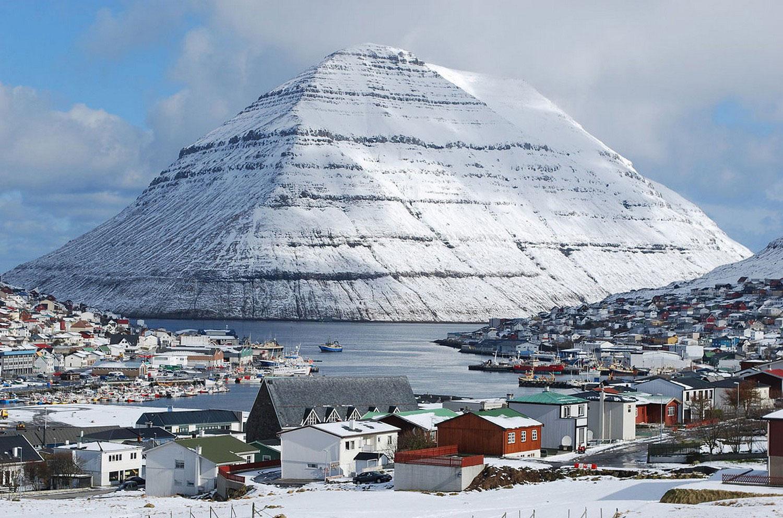 Клаксвик (Klaksvik), фото с фарерских островов