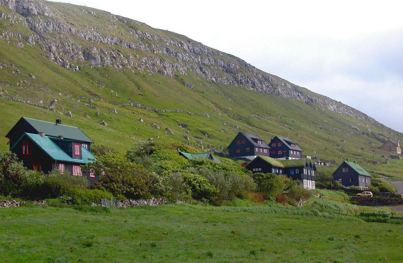Фото деревни Киркьюбё