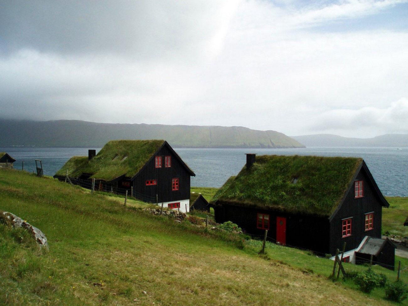 фото домов в деревне