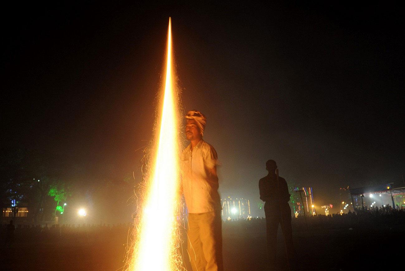 фестиваль Дивали в Калькутте, фото