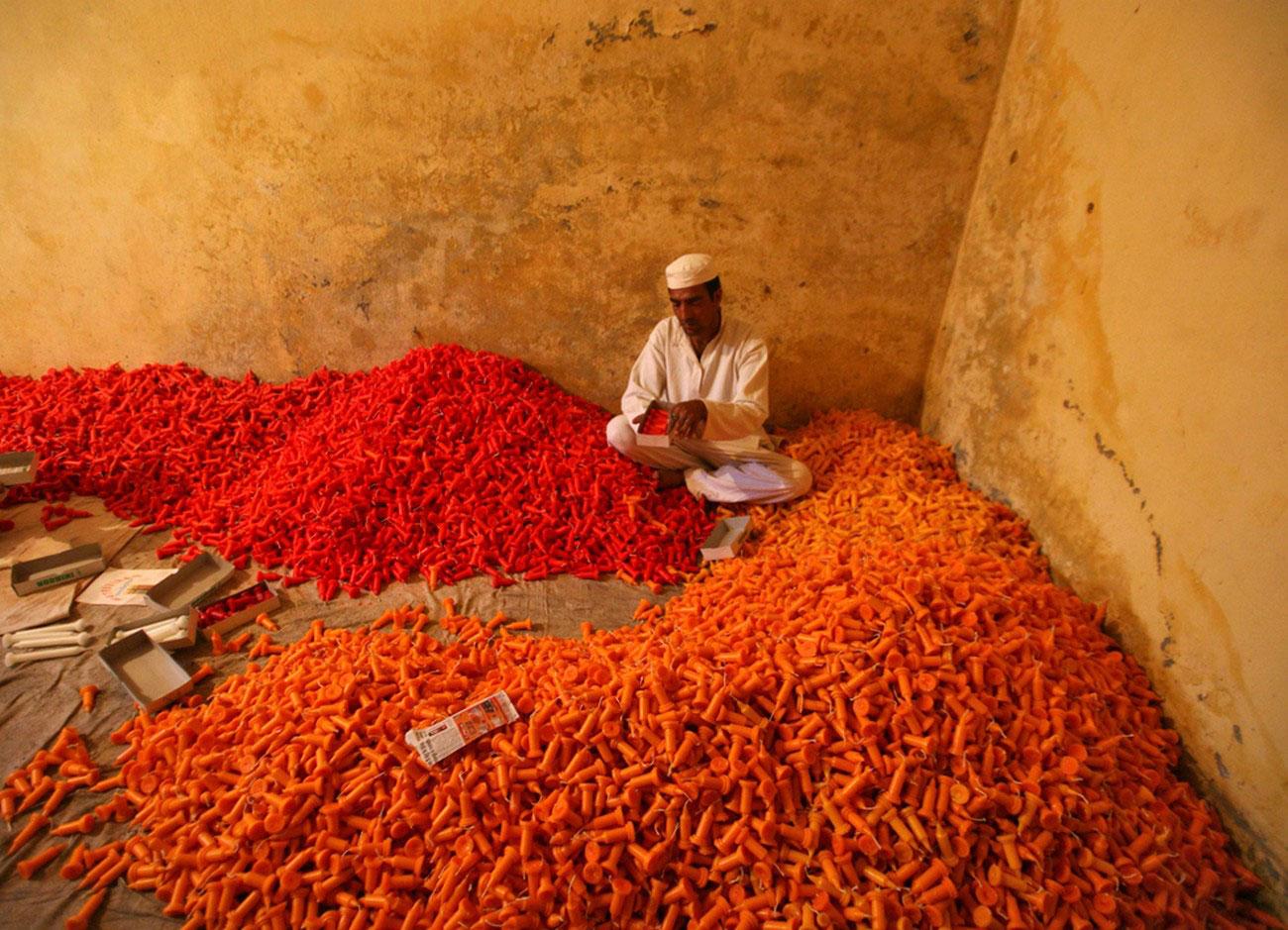 в преддверии индусского праздника
