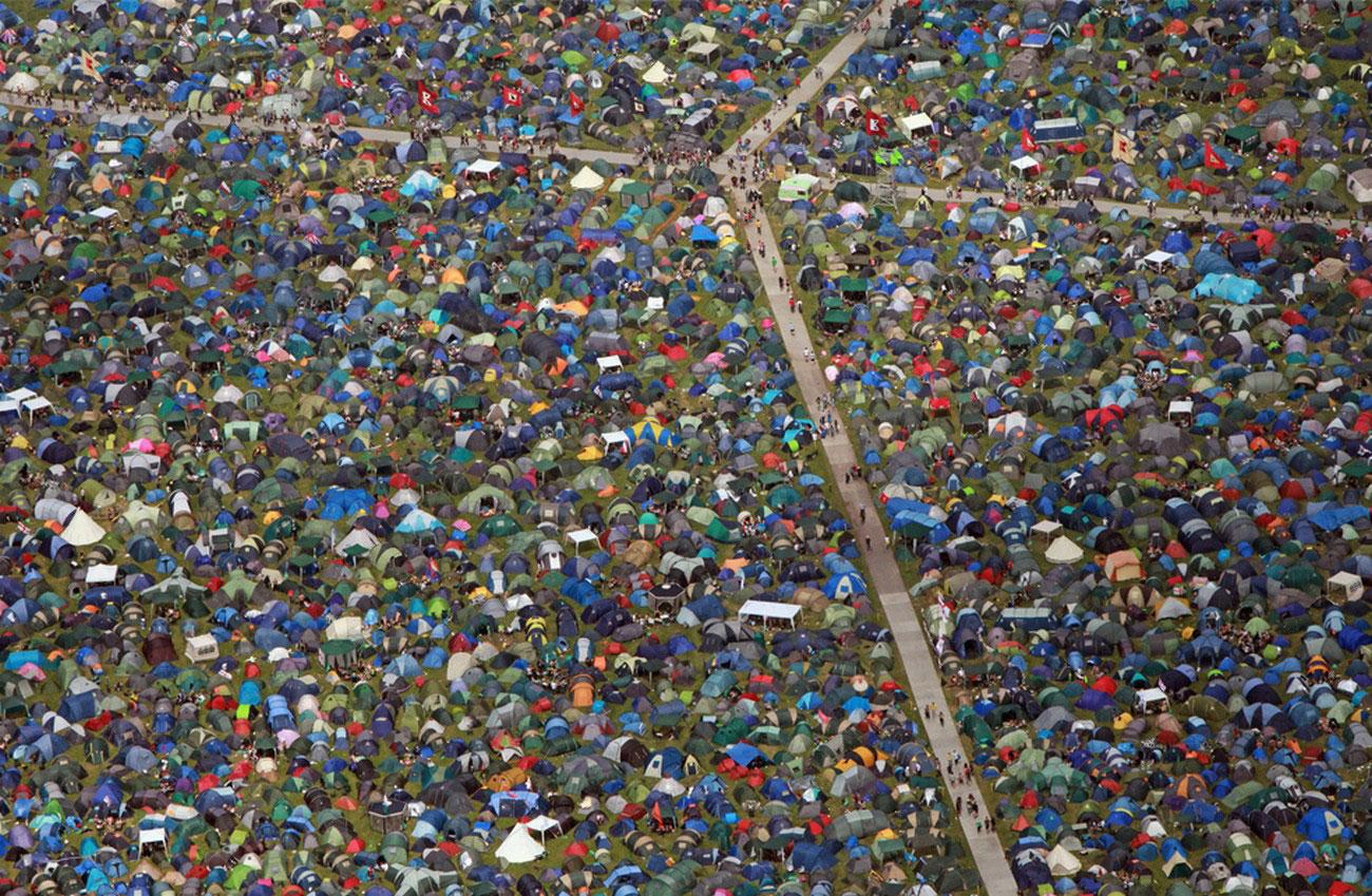 палатки меломанов, фото