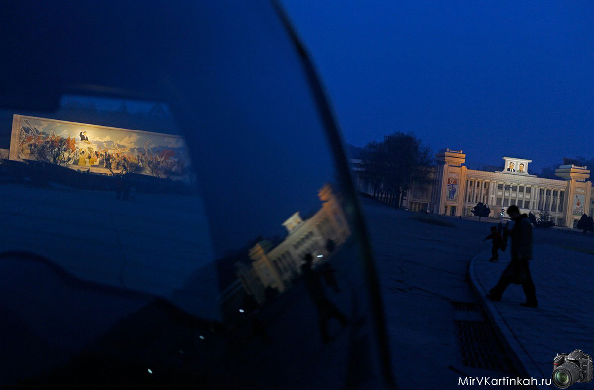 улица Северной Кореи