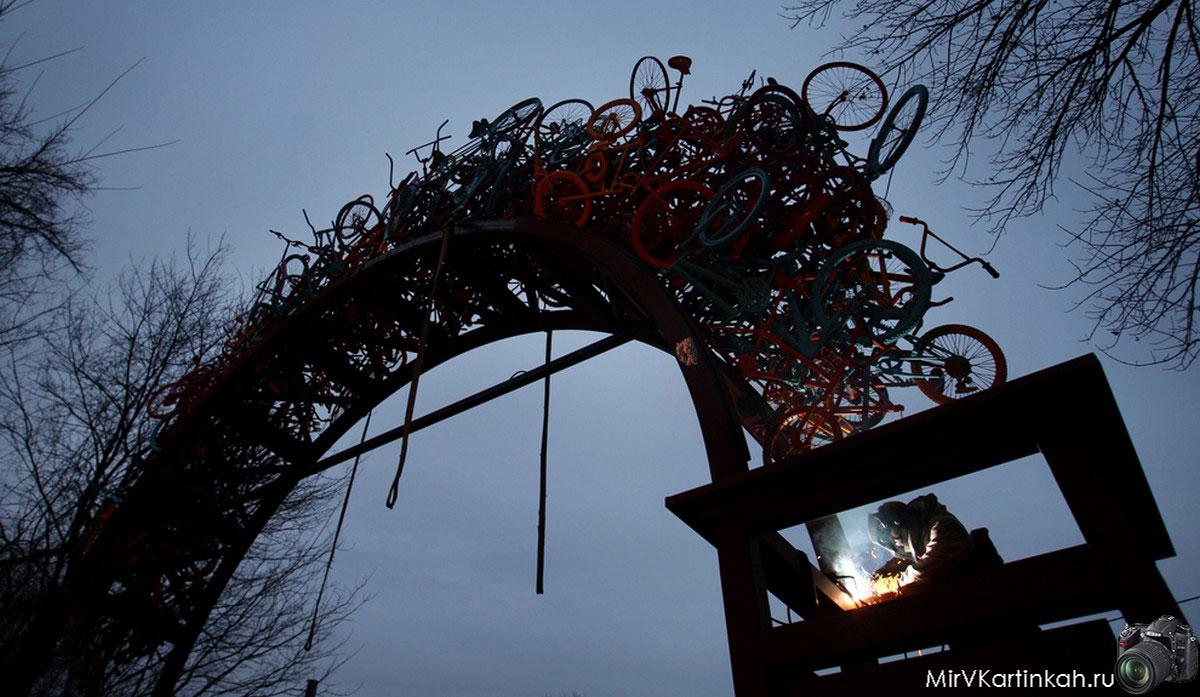 велосипедная арка