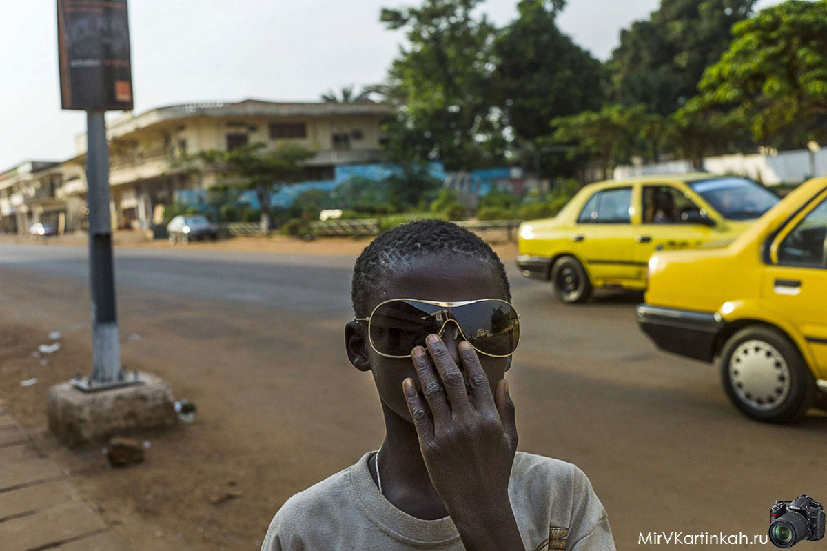 африканский подросток