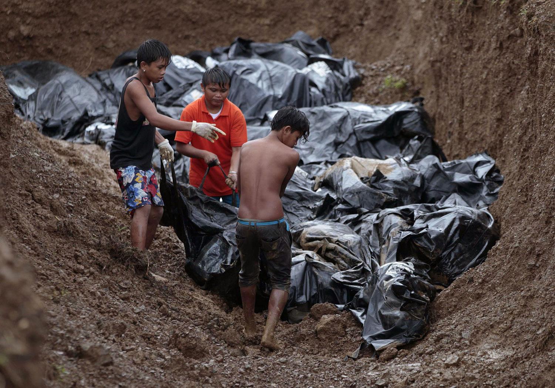 Филиппинские волонтеры