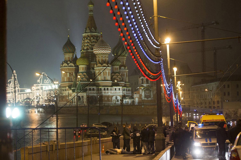 застрелен Борис Немцов