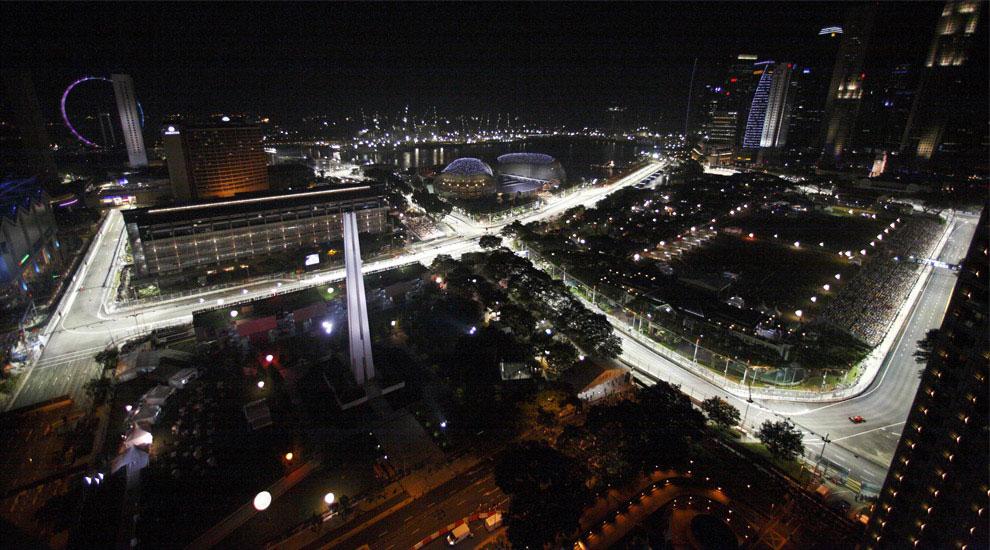 трасса Марина Бей в Сингапуре, фото