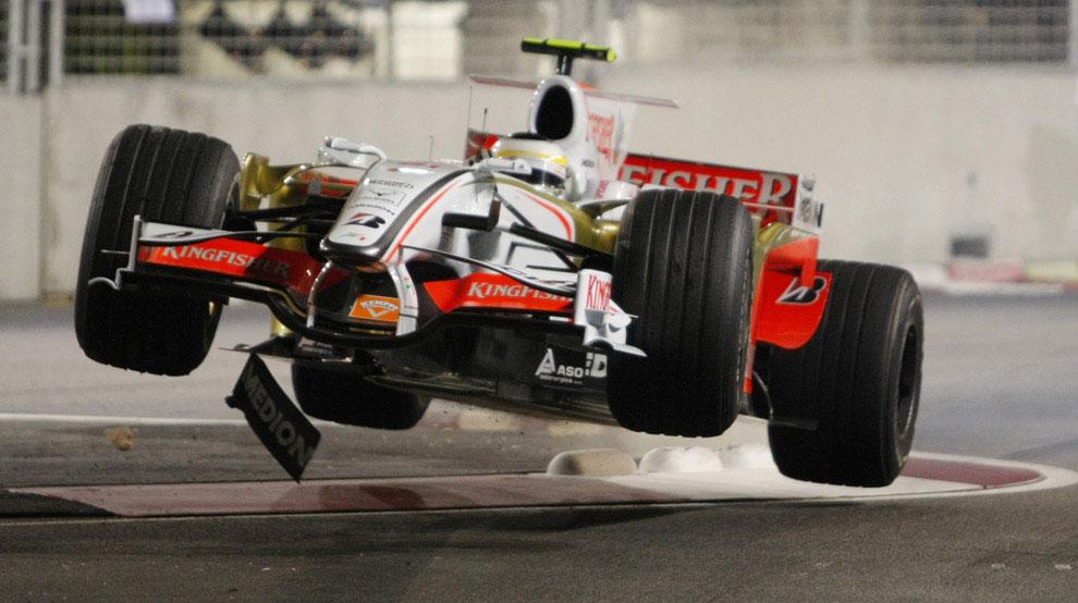 Джанкарло Физикелла из Италии на Формуле-1, фото