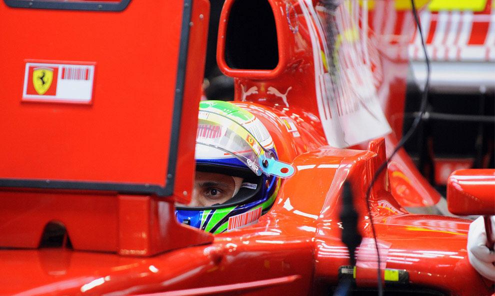 Фелипе Масса из Бразилии на Гран-при Сингапура 2008, фото
