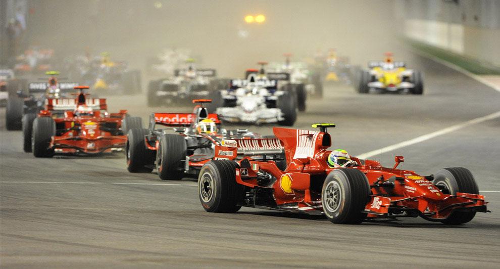 Гран-при Сингапура 2008, фото