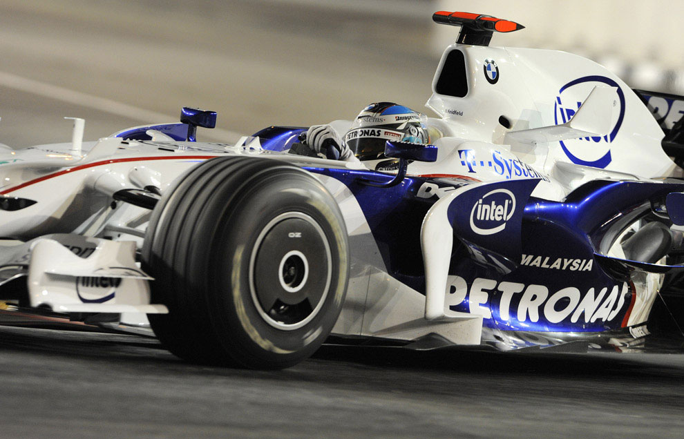 Ник Хайдфельд из Германии на Гран-при Сингапура 2008, фото