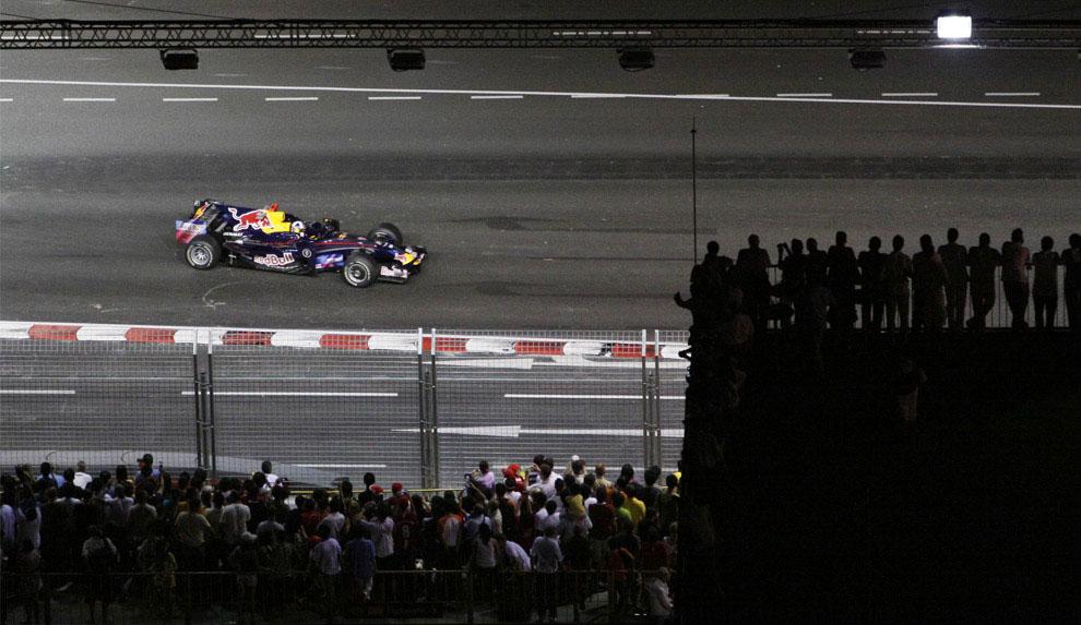 Дэвид Маршалл Култхард на Гран-при в Сингапуре 2008, фото