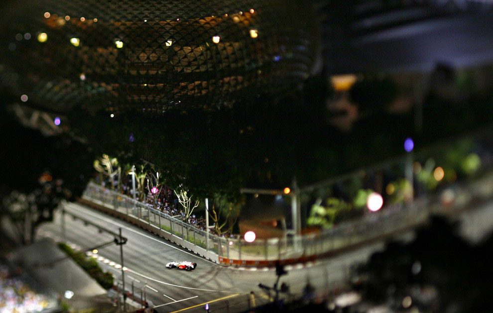 гонки на Гран-при в Сингапуре 2008, фото
