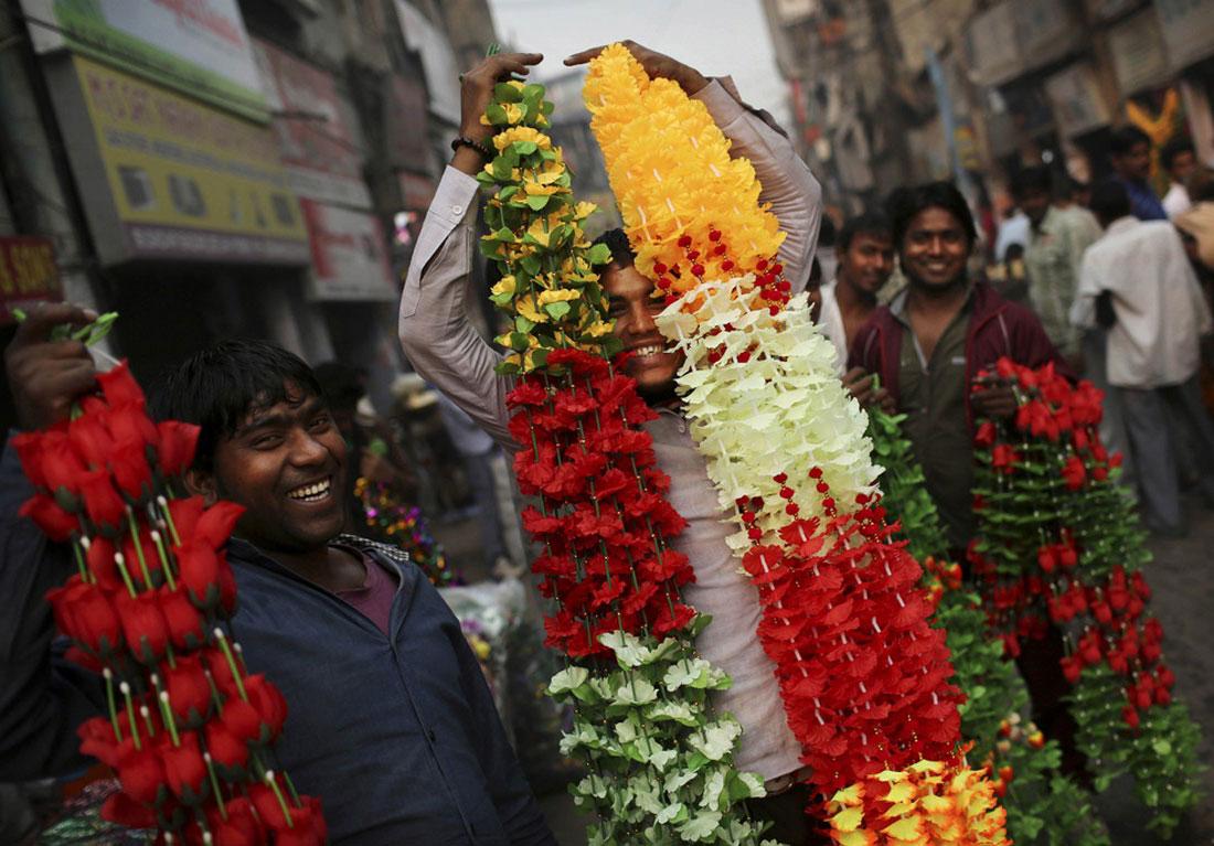 Продавцы цветов, фото из жизни людей