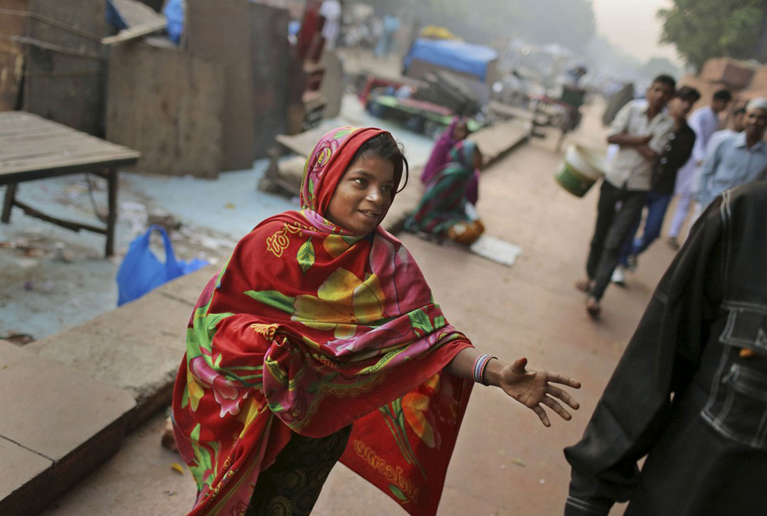 Индийская девочка, фото