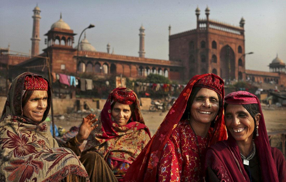 женщины из Кашмира, фото