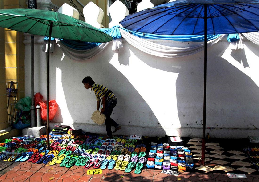Продавец сланцев, фото