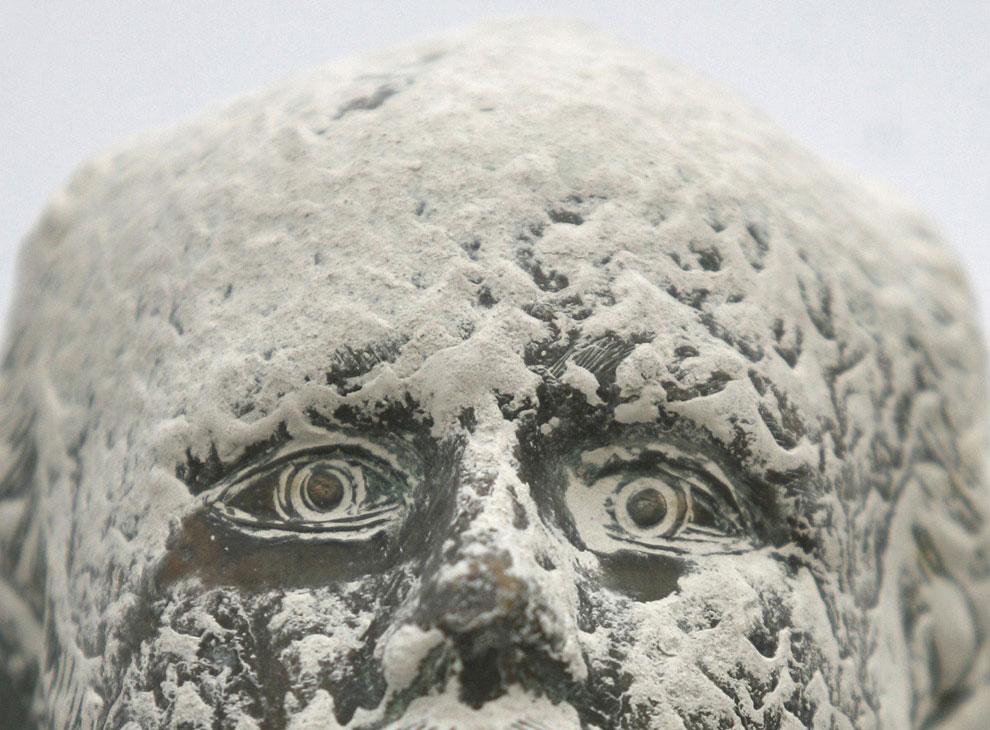 Скульптура чилийского национального героя