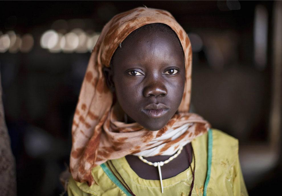 беженка в Судане