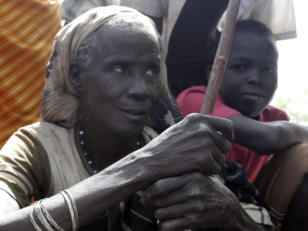 жительница Судана в Африке