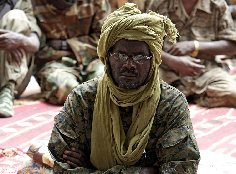 лидер повстанцев Судана