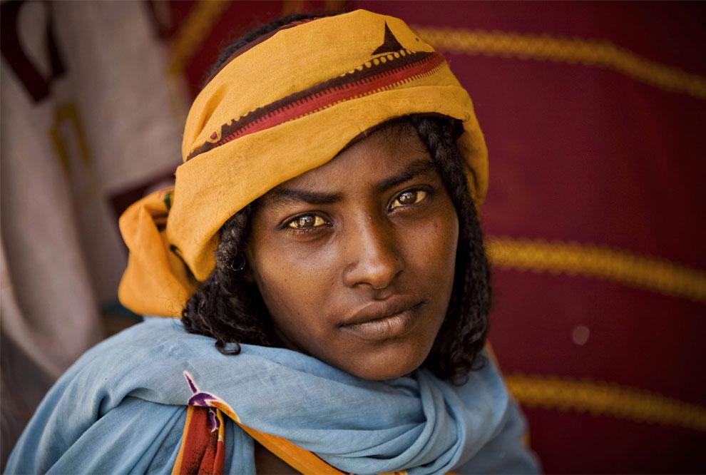 Арабская женщина в клинике