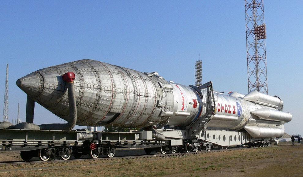 запуски на космодроме Байконур