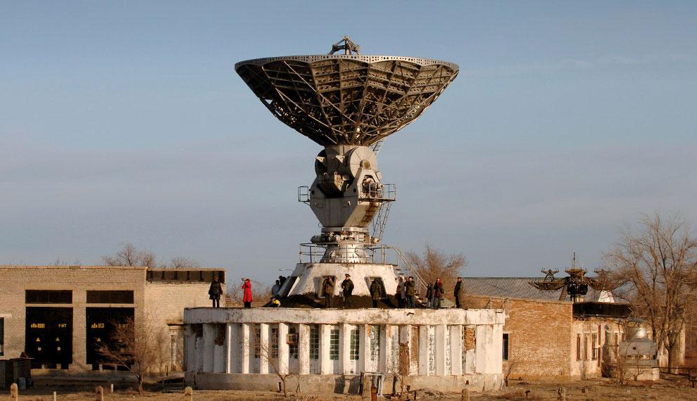 Союз ТМА-8 на космодроме Байконур, фото