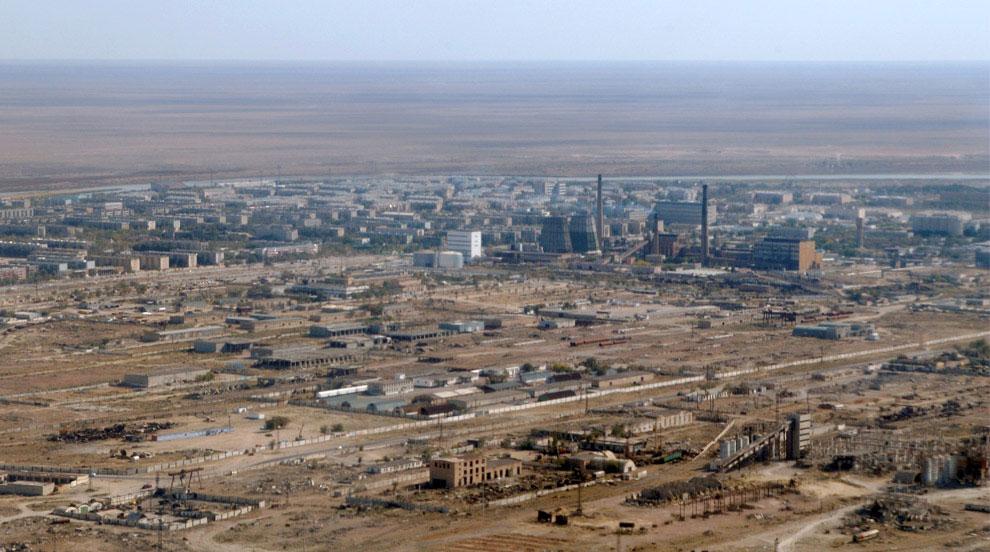 город Байконур Казахстан, фото