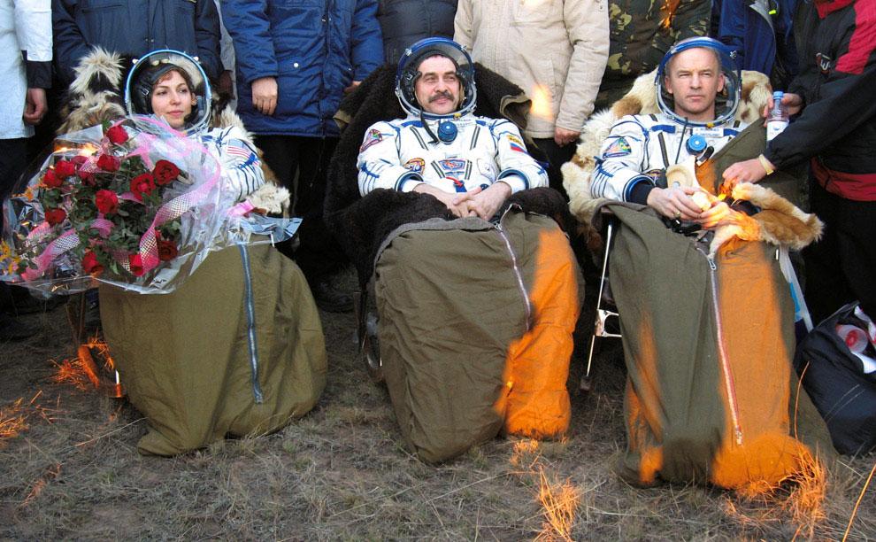 члены экипажа космического корабля, фото