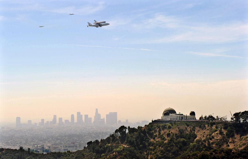 самолет над Калифорнией, фото