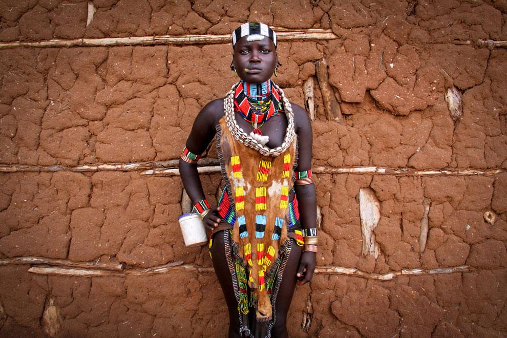 эфиопка, фото