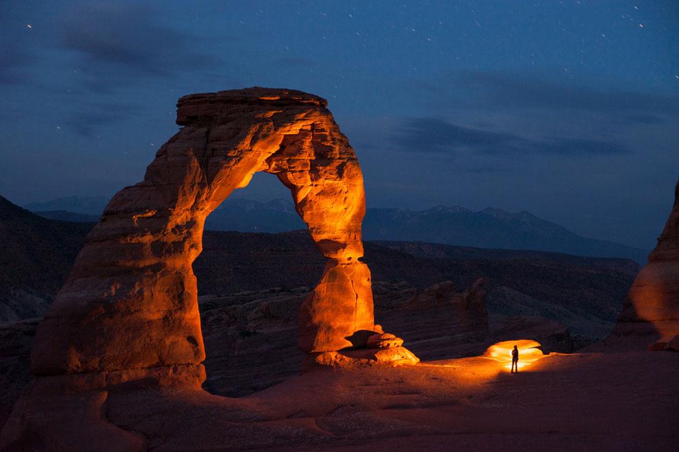 скальная арка, фото