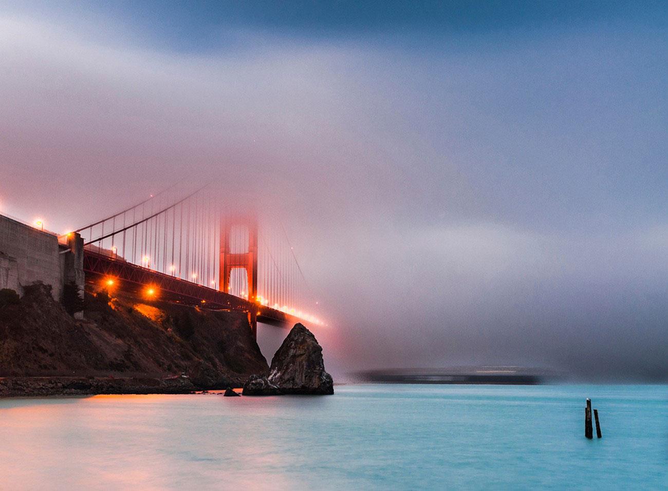 мост золотые ворота, фото
