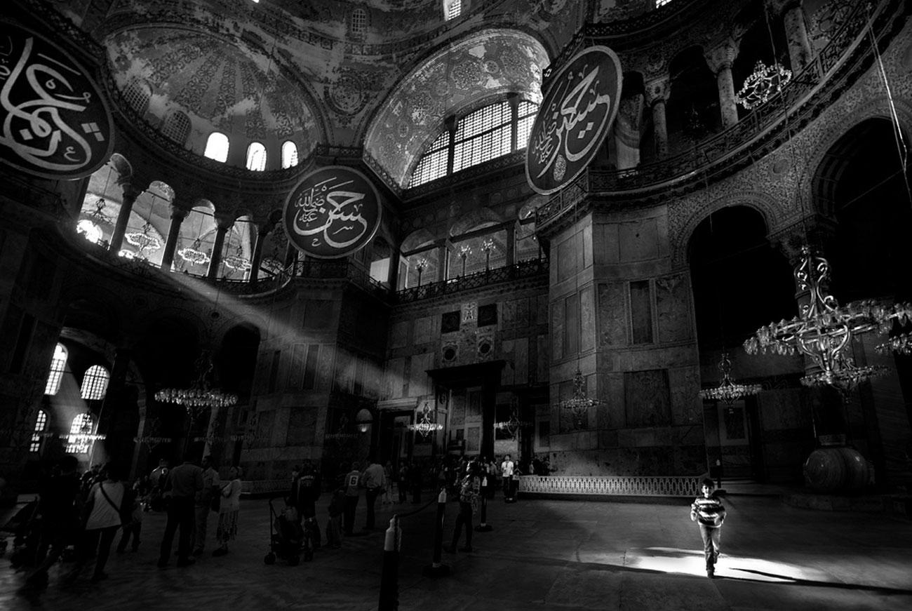 Собор Святой Софии, фото в National Geographic