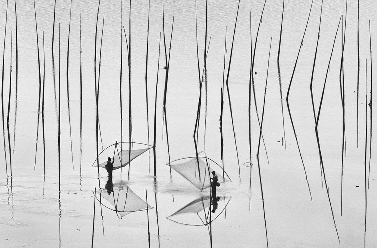китайское мелководье, фотография для канала National Geographic