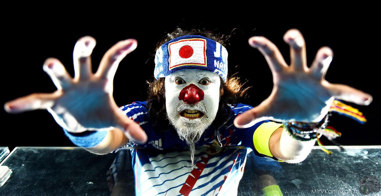 Японский болельщик