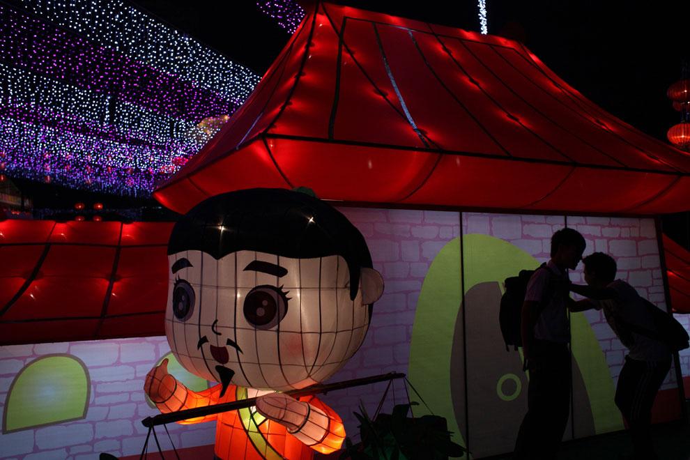 фонари в Китае, фото